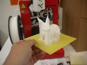 3d printer rabbit