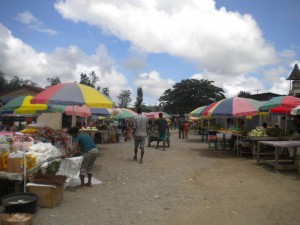 market at Gleno