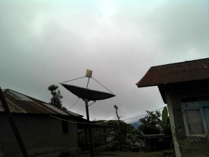 suco pv system and satellite dish