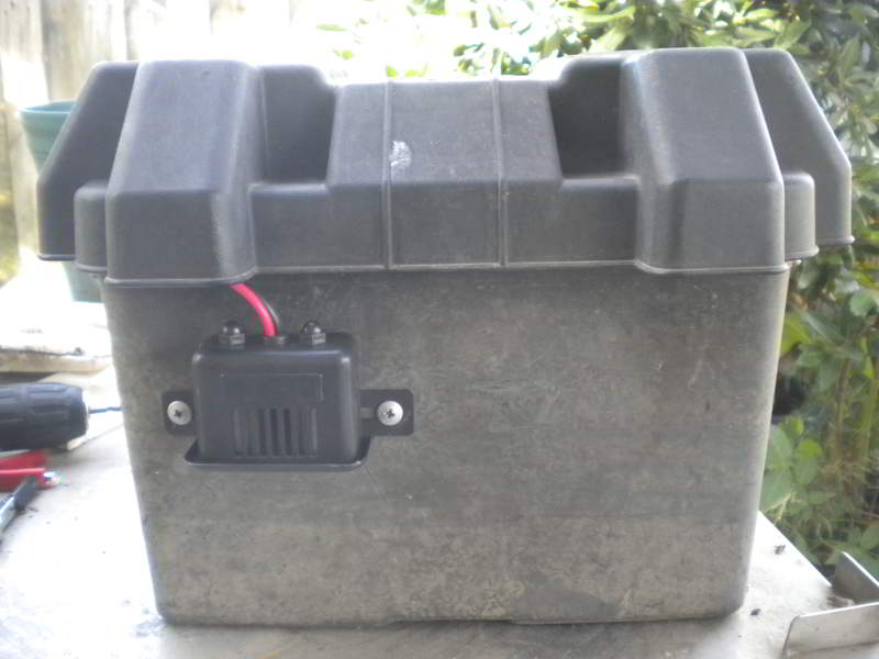 diy battery box camping 1